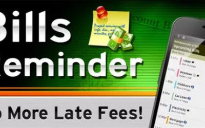 USE YOUR CALENDAR FOR BILL REMINDERS